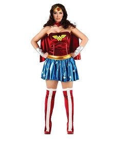 Rubies Costumes Women's Plus Size Deluxe Wonder Woman Costume