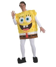 Rubies Costumes Adult SpongeBob SquarePants Costume