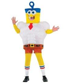 Rubies Costumes Adult Inflatable Spongebob Costume
