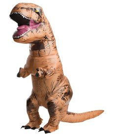 Rubies Costumes Adult Inflatable T-Rex Costume: Jurassic World