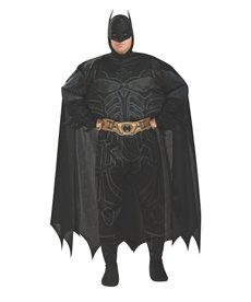 Rubies Costumes Men's Plus Size Batman Costume (Dark Knight Trilogy)