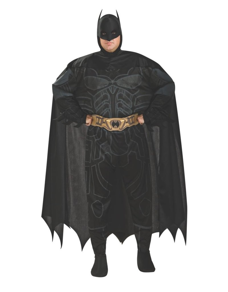 Rubies Costumes Men's Plus Size Batman Costume (Dark Knight Trilogy)