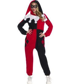 Rubies Costumes Adult Harley Quinn Onesie