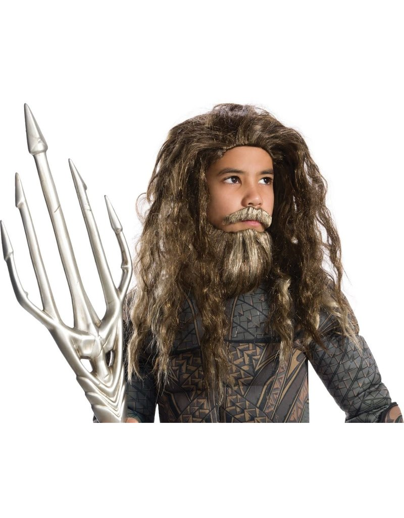 Rubies Costumes Boy's Aquaman Wig and Beard Set