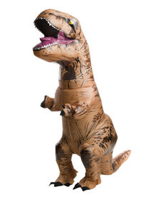 Rubies Costumes Teen Inflatable T-Rex Costume: Jurassic World