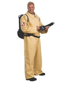 Rubies Costumes Men's Plus Size Ghostbusters Costume