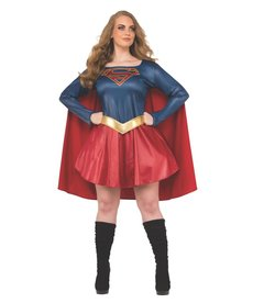 Rubies Costumes Plus Size Supergirl Costume (Supergirl TV Show)