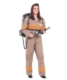 Rubies Costumes Women's Plus Size Ghostbuster Costume