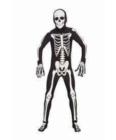 Adult I'm Invisible: Bone Suit Bodysuit