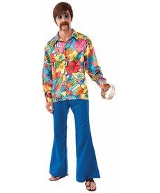 Men's Hippie Groovy Go-Go Shirt