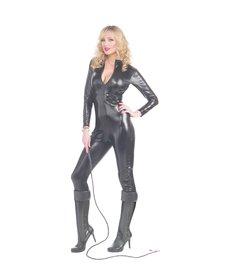 Women's Sleek & Sexy Bodysuit: Black
