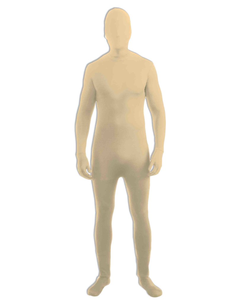 Adult Beige Disappearing Man Bodysuit