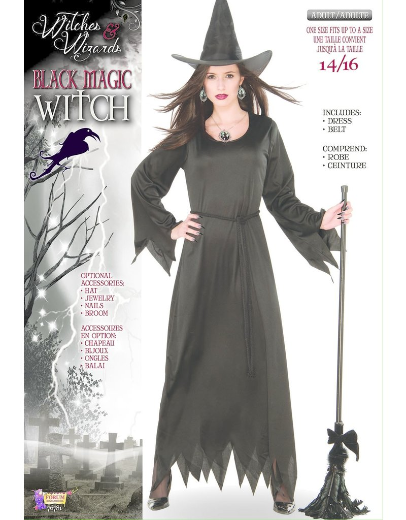 Black Magic Witch - Standard Adult Size