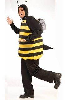 Adult Plus Size Bumble Bee: XL (Plus)