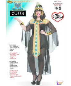 Adult Plus Size Cleopatra Queen Costume