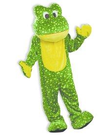 Adult Deluxe Mascot: Frog - Standard