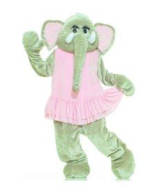 Adult Deluxe Elephant Mascot