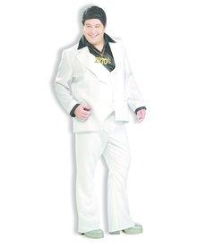 Men's Plus Size Disco Fever Costume