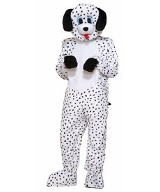Adult Dotty the Dalmatian Mascot Costume