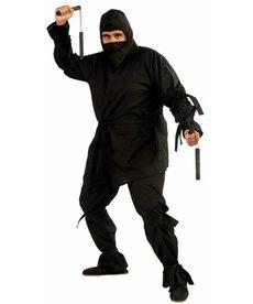 Adult Plus Size Deluxe Ninja Costume