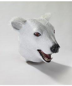 Deluxe Latex Animal Mask: Polar Bear