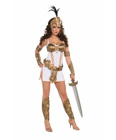 Adult Warrior Woman Costume
