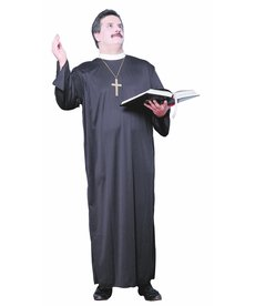Adult Plus Size Priest Costume