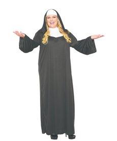 Adult Plus Size Nun: 16/22