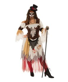 Rubies Costumes Women's Plus Size Conjure Woman Costume