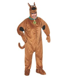 Rubies Costumes Men's Plus Size Scooby Doo Costume