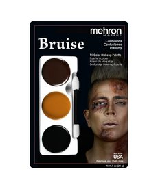 Mehron Makeup Tri-Color Makeup Palette