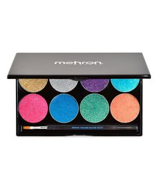 Mehron Makeup Paradise Brilliant Metallic Paint Palette