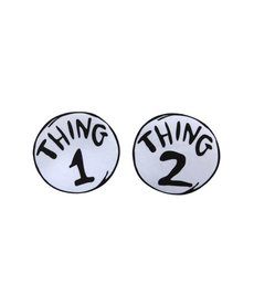 elope Dr. Seuss Thing 1&2 Large Patches Set