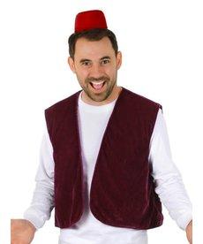 elope Men's Aladdin Fez & Vest Kit (Aladdin 2019)