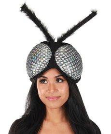 elope elope Holographic Fly Eyes Plush Headband