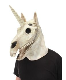 elope Unicorn Skull Mouth Mover Mask