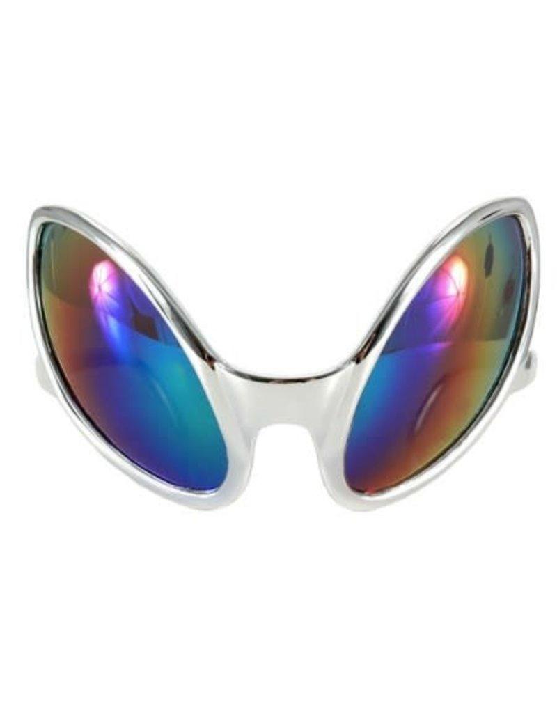 elope elope Close Encounter Glasses Silver/Rainbow