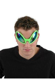 Close Encounter Glasses Green/Purple-Gold