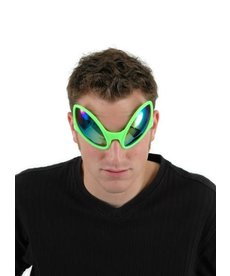 elope elope Close Encounter Glasses Green/Purple-Gold