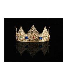 elope elope Gold Ladies Pointed Crown Adjustable