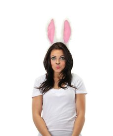 elope Rabbit Sound Activated Moving Ears Headband