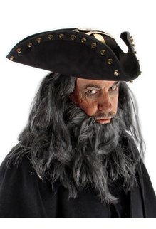 elope Disney Pirates of the Caribbean Blackbeard Hat
