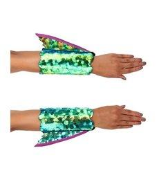 elope elope Seahorse Shimmer Fin Arm Cuffs