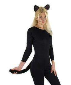 elope elope Black Cat Ears & Tail Kit