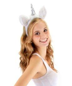 elope Unicorn Ears Plush Headband & Tail Kit