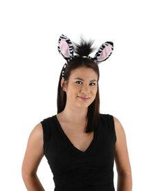elope elope Zebra Ears Headband & Tail Kit