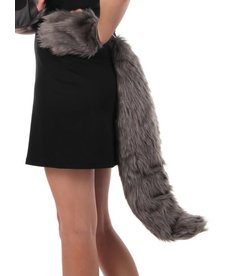 elope elope Deluxe Wolf Plush Tail
