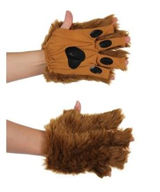 elope Brown Fingerless Paws