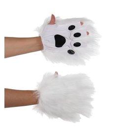 elope elope White Fingerless Paws