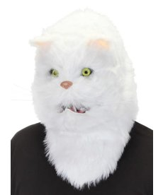 elope elope White Cat Mouth Mover Mask